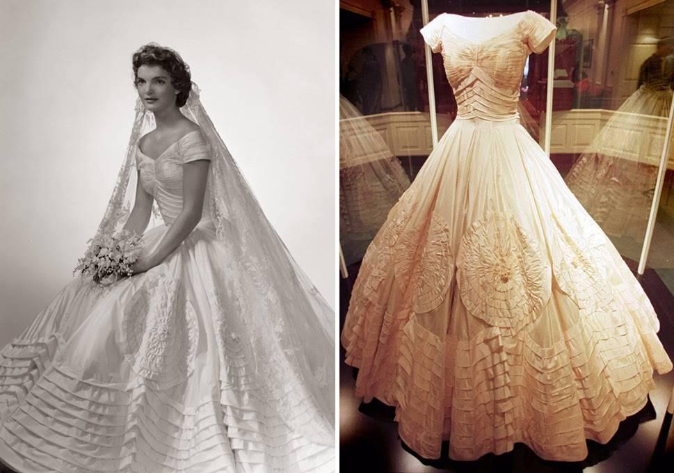 Die schönsten berühmten Brautkleider - Fabulous Fifties - festlicher