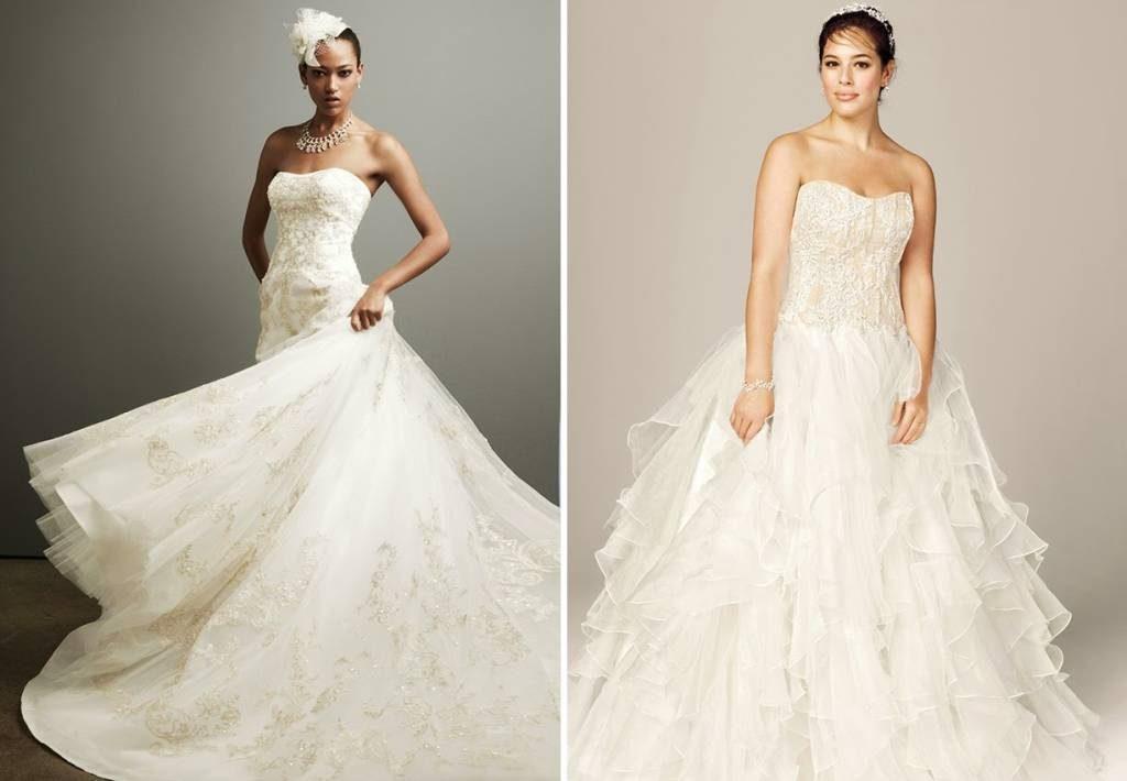 Das perfekte Brautkleid - festlicher