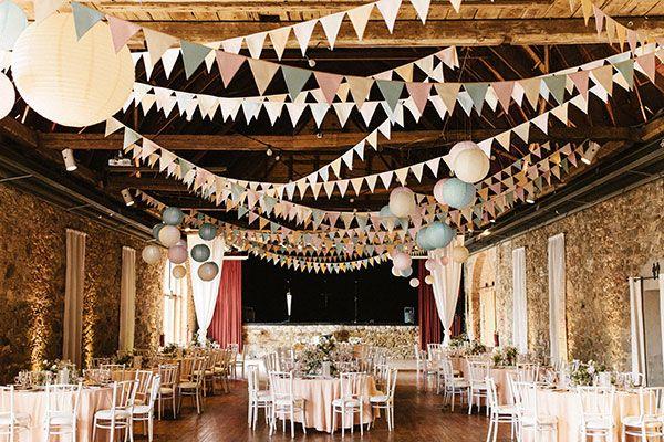 Abbildung Teilarrangement Dekorationsservice dekorierter Saal
